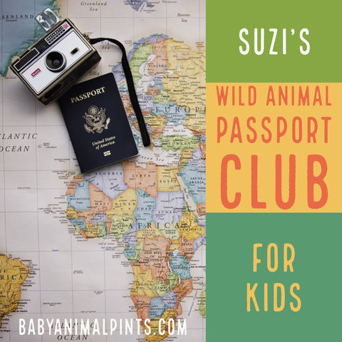 Suzi's Wild Animal Passport Club for Kids