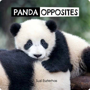 Cover of Panda Opposites book