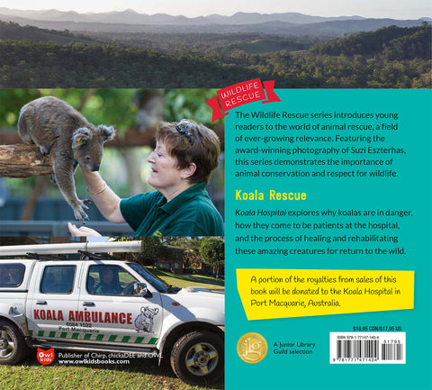 Koala hospital book back cover
