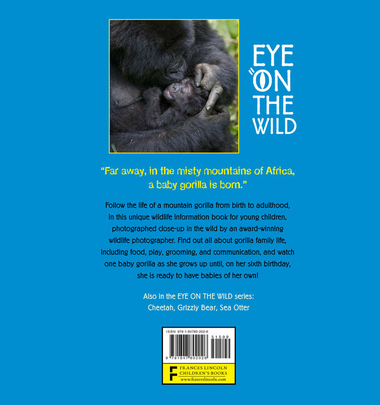 Children S Book Back Cover : Children s book quot eye on the wild ⎯ gorilla baby animal