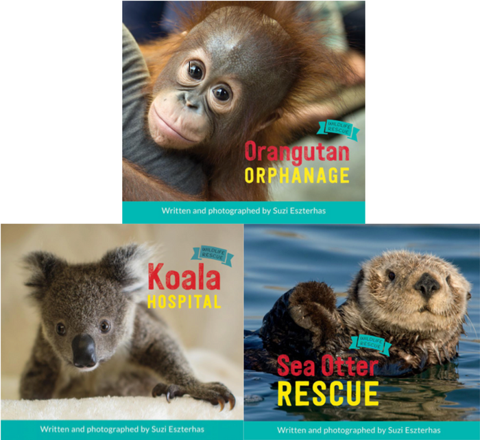 "Children's books, ""Wildlife Rescue"" - Complete Set"