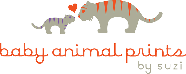 Baby Animal Prints by Suzi