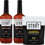 Load image into Gallery viewer, 2 STOUT Bloody + Salt Gift Package