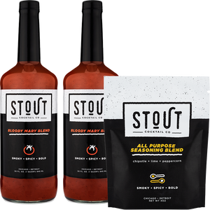 2 STOUT Bloody + Salt Gift Package