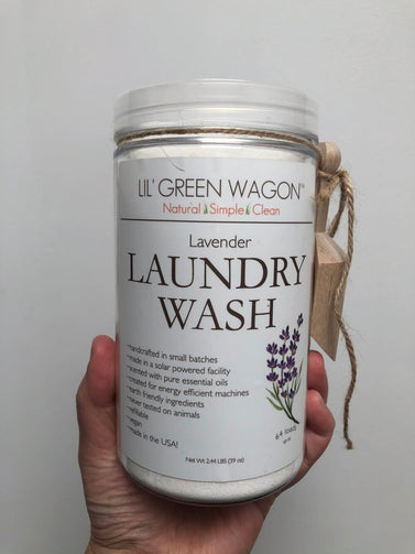 Lil' Green Wagon Laundry Powder