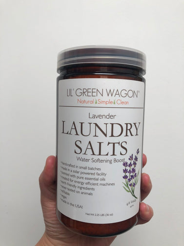 Lil' Green Wagon Laundry Salts