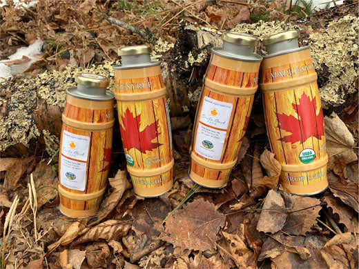 Set of 4 Half-Liter Cans