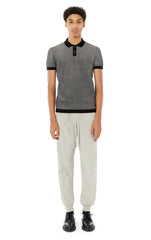 Harris Knit Pant in Grey