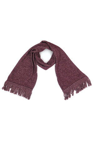 Luxe Scarf in Maroon
