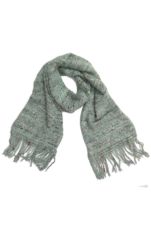 Ruby Textured Scarf in Seafoam