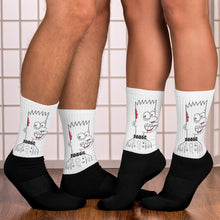 Load image into Gallery viewer, Studmuffin NYC 'Lower East Side Bart' Socks