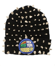 Load image into Gallery viewer, Studmuffin NYC x 20g NY Robbery Spike Skully- Full Silver