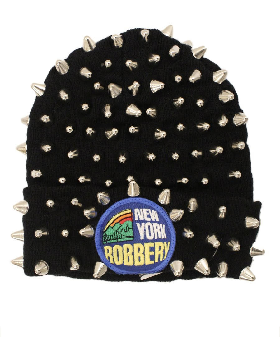 Studmuffin NYC x 20g NY Robbery Spike Skully- Full Silver