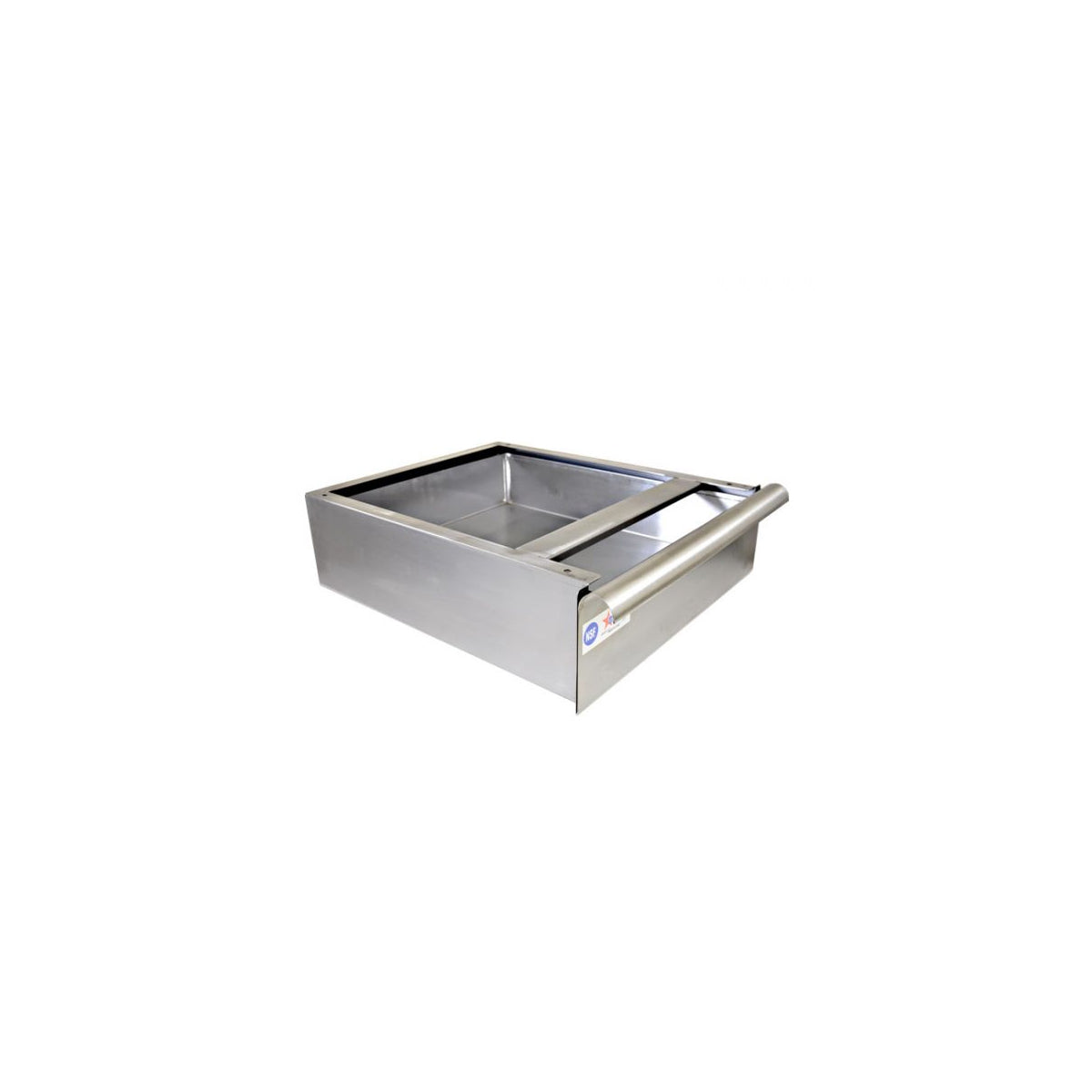 "Stainless Steel Drawer and Frame for 30"" Deep Work Tables"