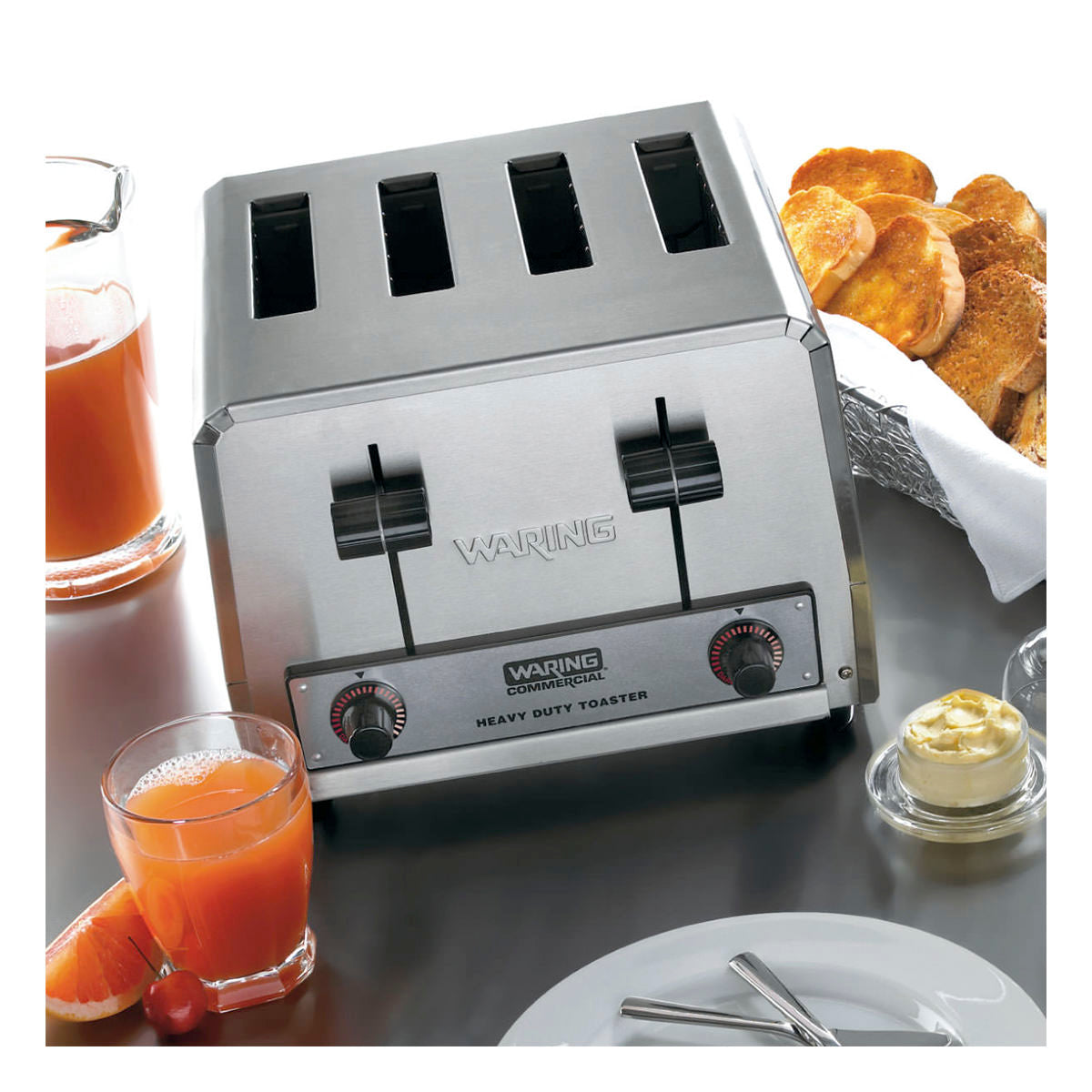Waring WCT800 Heavy Duty Four Slice Toaster