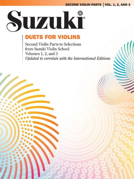 Suzuki Duets for Violins - Volumes 1, 2 and 3 - Revised Edition