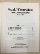 Load image into Gallery viewer, Suzuki Violin School, Vol 4: Piano Accompaniment