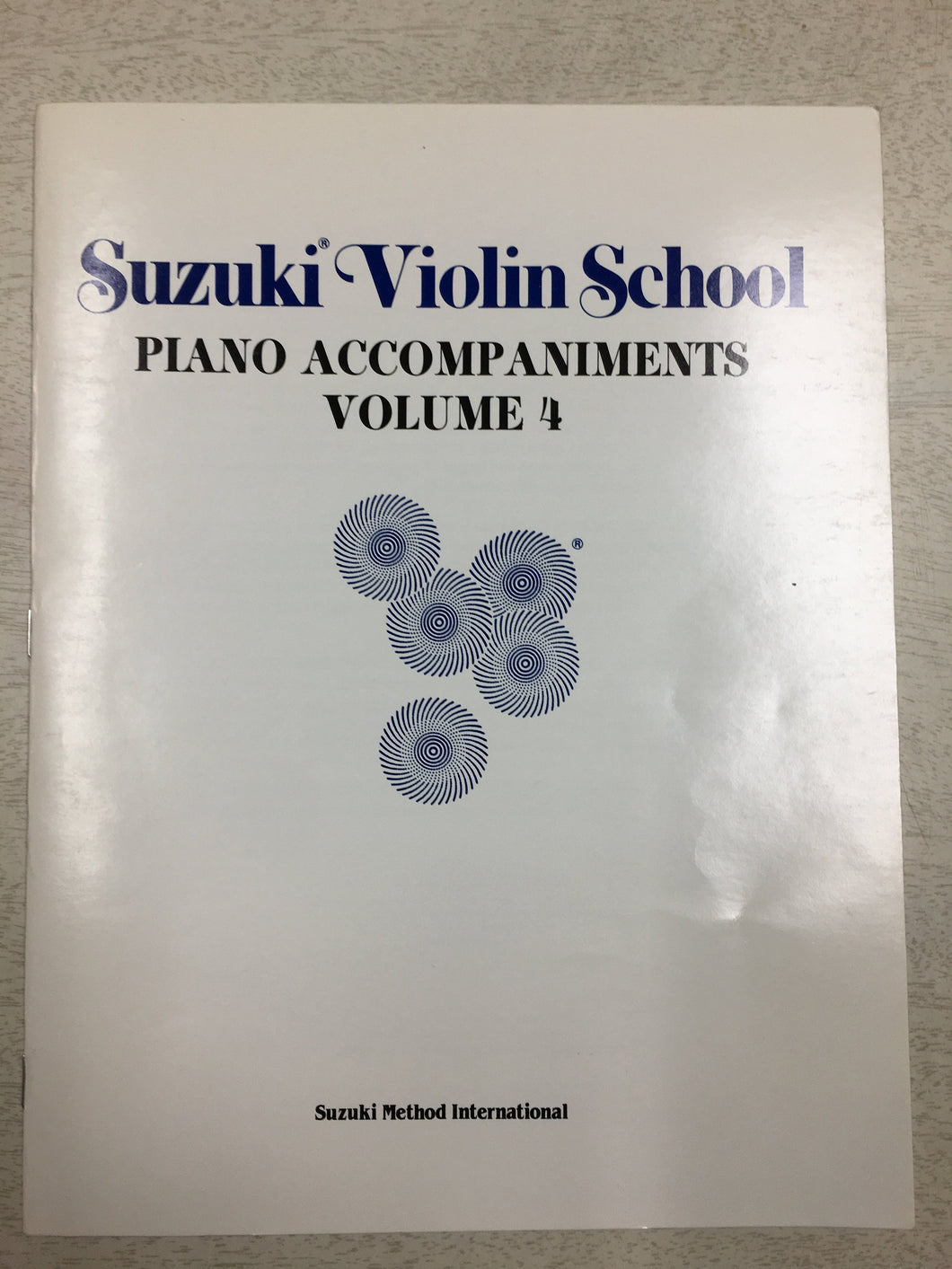Suzuki Violin School, Vol 4: Piano Accompaniment