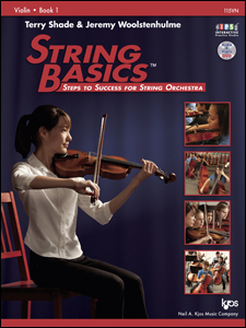 String Basics Violin Book 1 w/CD - Shade and Woolstenhulme