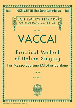 Practical Method of Italian Singing (Mezzo/Baritone), Vaccai