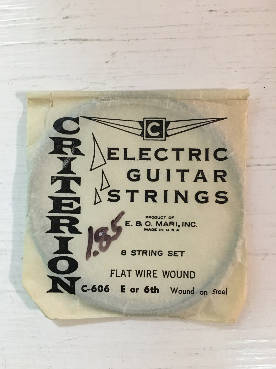 Electric Single Strings - Criterion Flat Wire Wound Low E