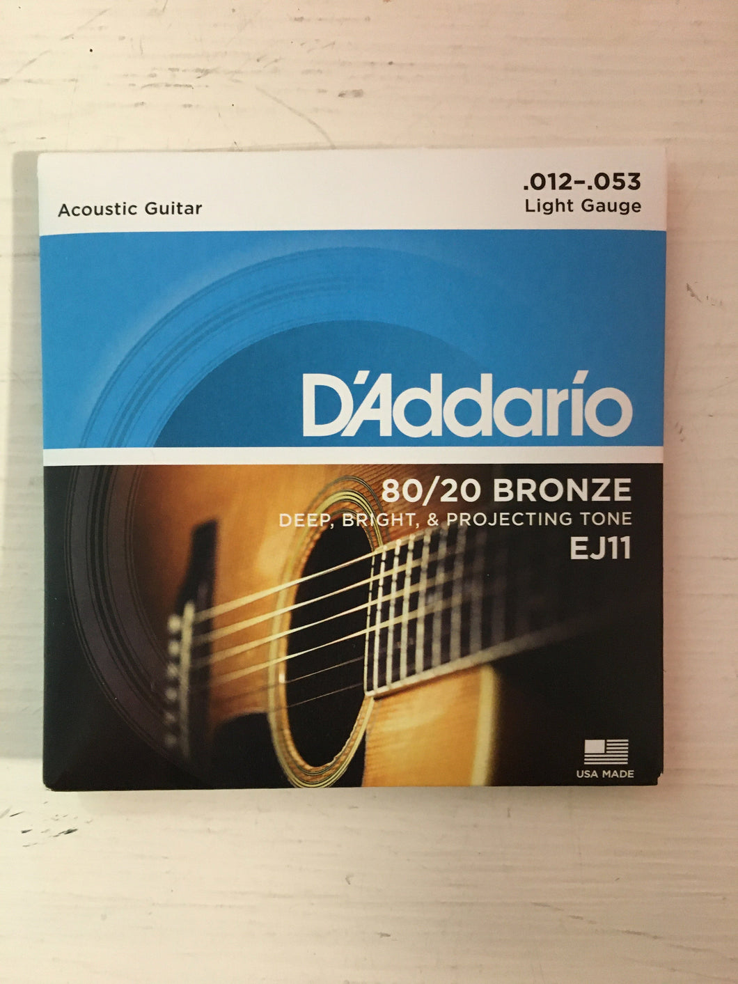 Acoustic Strings - D'Addario EJ11 Bronze