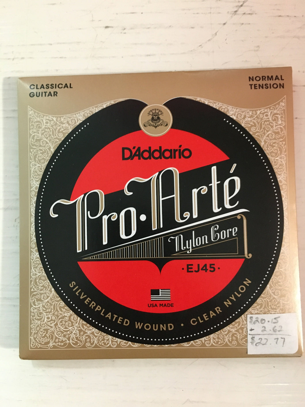 Classical Single Strings - D'Addario Pro-Arte EJ45 G String