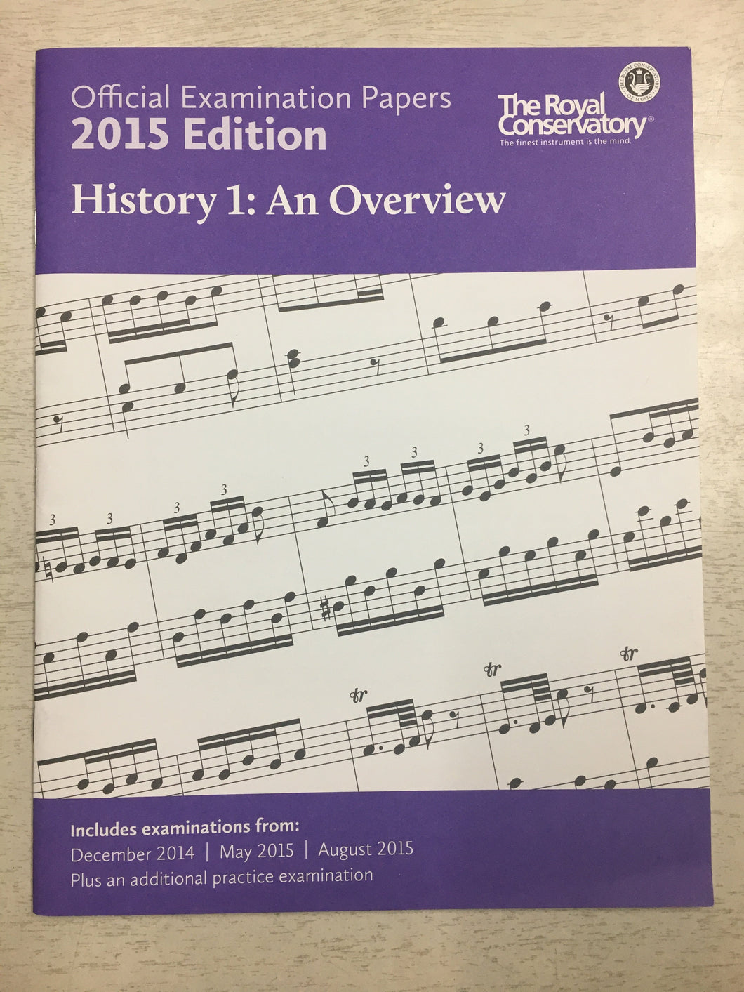 RCM - History 1: An Overview 2015 Ed.