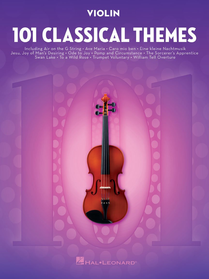 101 Classical Themes Violin