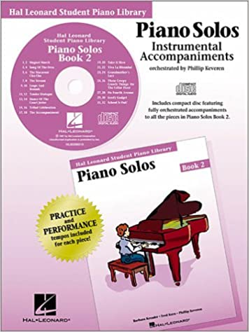 Piano Solos Instrumental Accompaniments Book 2, Phillip Keveren