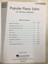 Load image into Gallery viewer, Hal Leonard Popular Piano Solos - 2