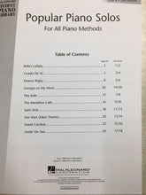 Load image into Gallery viewer, Hal Leonard Popular Piano Solos - 4