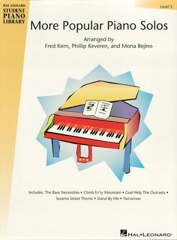 Hal Leonard More Popular Piano Solos - 3