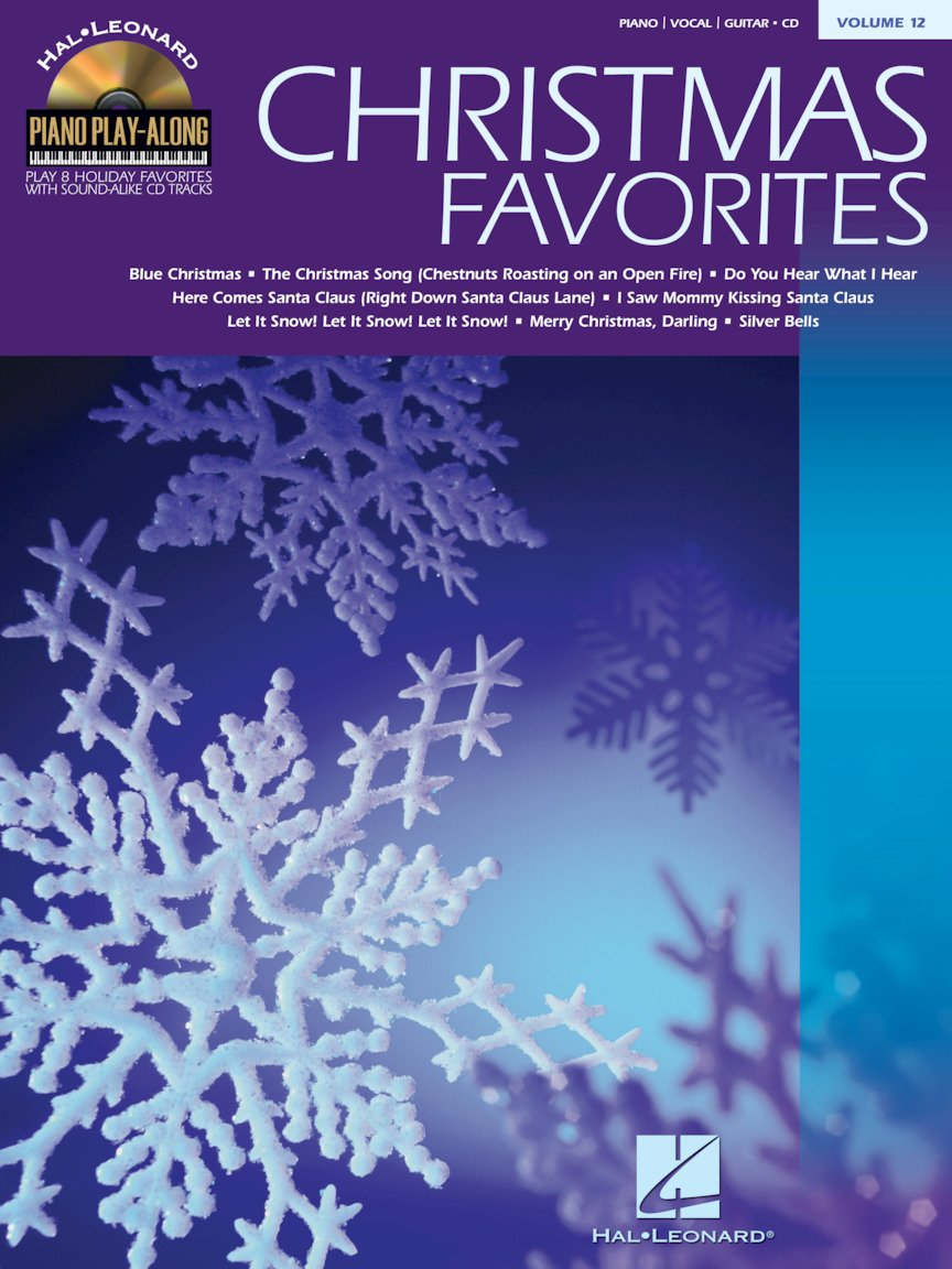 Christmas Favorites with CD Vol. 12