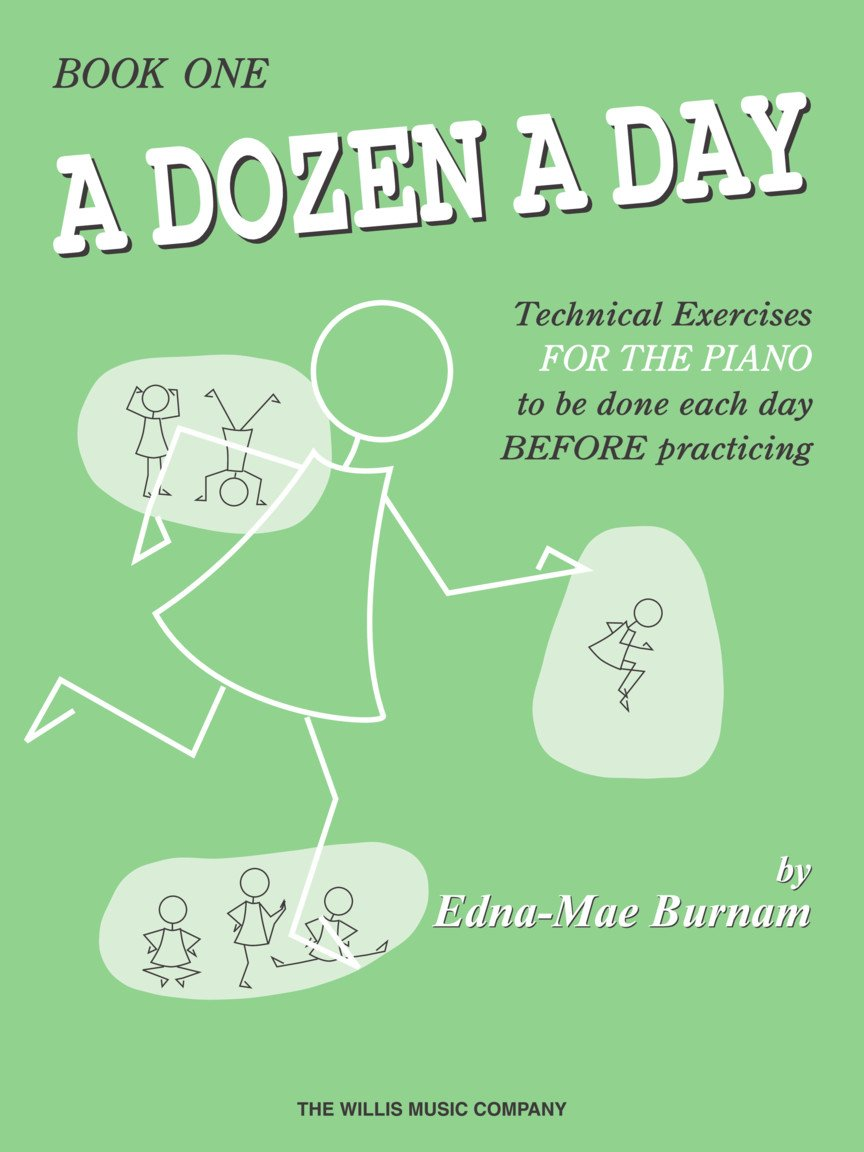 Dozen A Day - Book 1, Burnham