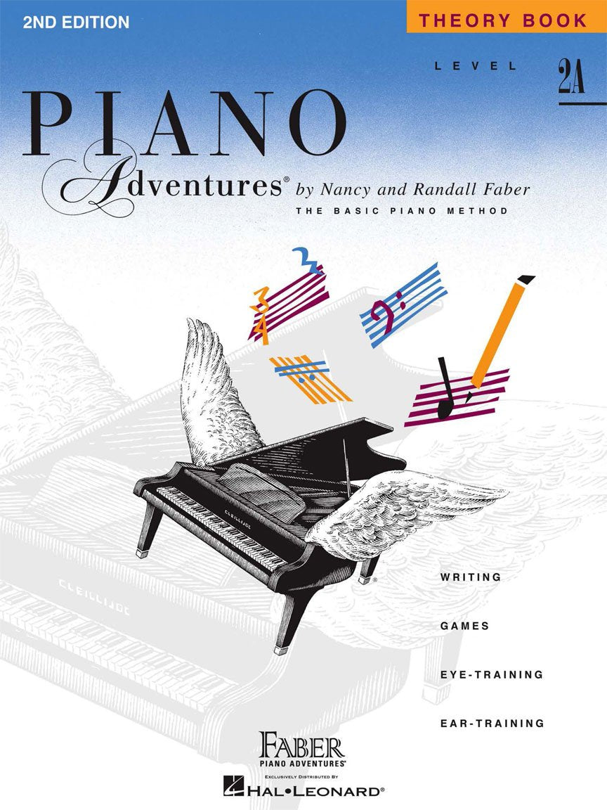 Piano Adventures Theory - 2A