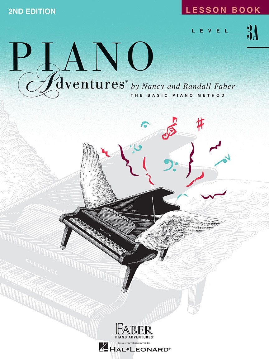 Piano Adventures Lesson Book -Level 3A By Faber