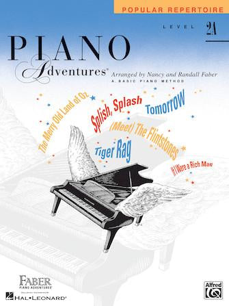 Piano Adventures Popular Repertoire - Level 2A