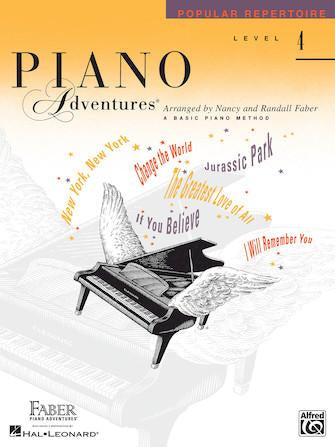 Piano Adventures Popular Repertoire - Level 4