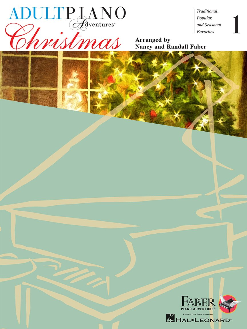 Adult Piano Adventures Christmas Book 1, Faber