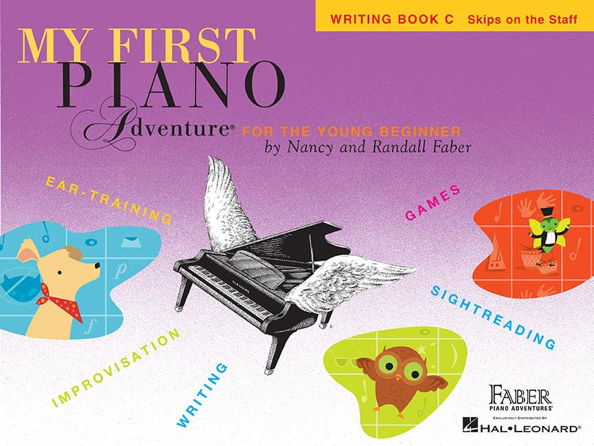 My First Piano Adventures Writing Bk C