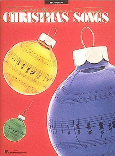 Twenty Five Top Christmas Songs - Piano