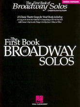 Load image into Gallery viewer, First Book of Broadway Solos - Mezzo, Boytim
