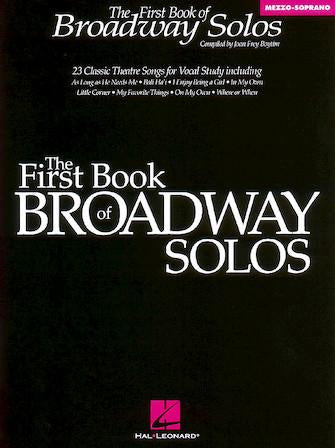 First Book of Broadway Solos - Mezzo, Boytim