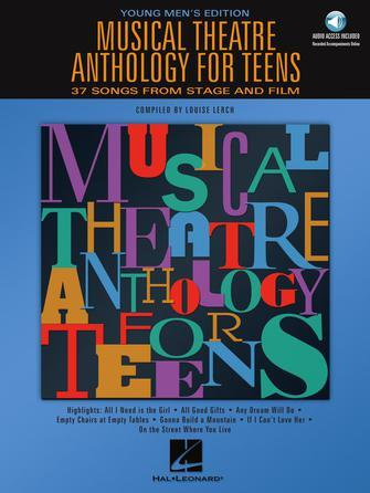 Musical Theatre Anthology for Men / Teens, Louise Lerch