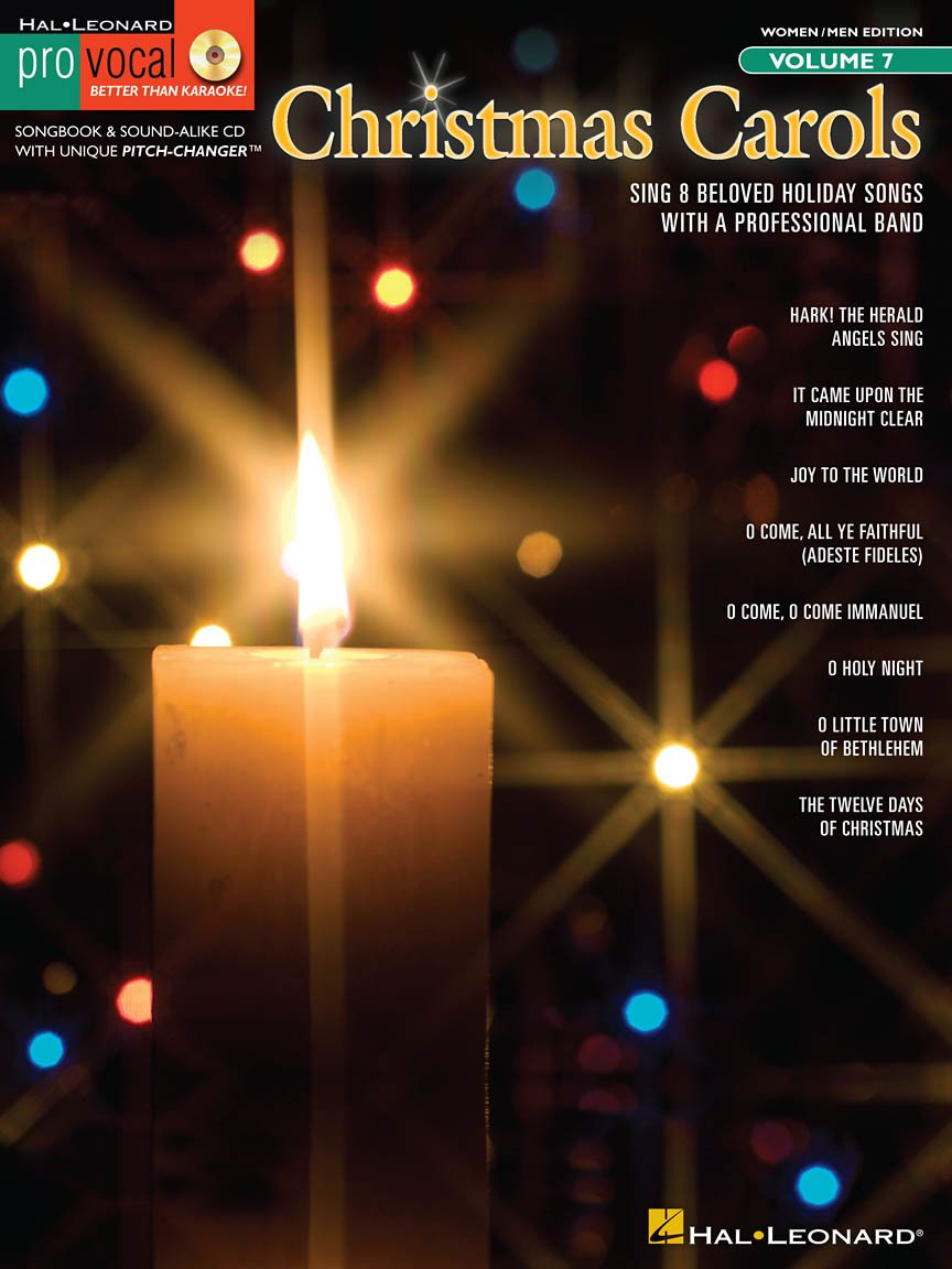 Christmas Carols (Men and Women's Edition) with CD Vol. 7