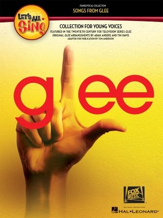 GLEE Let's All Sing - Collection for Young Voices plus CD and 8 individual parts, Anders & Davis