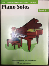 Load image into Gallery viewer, Hal Leonard Piano Solos Book 4