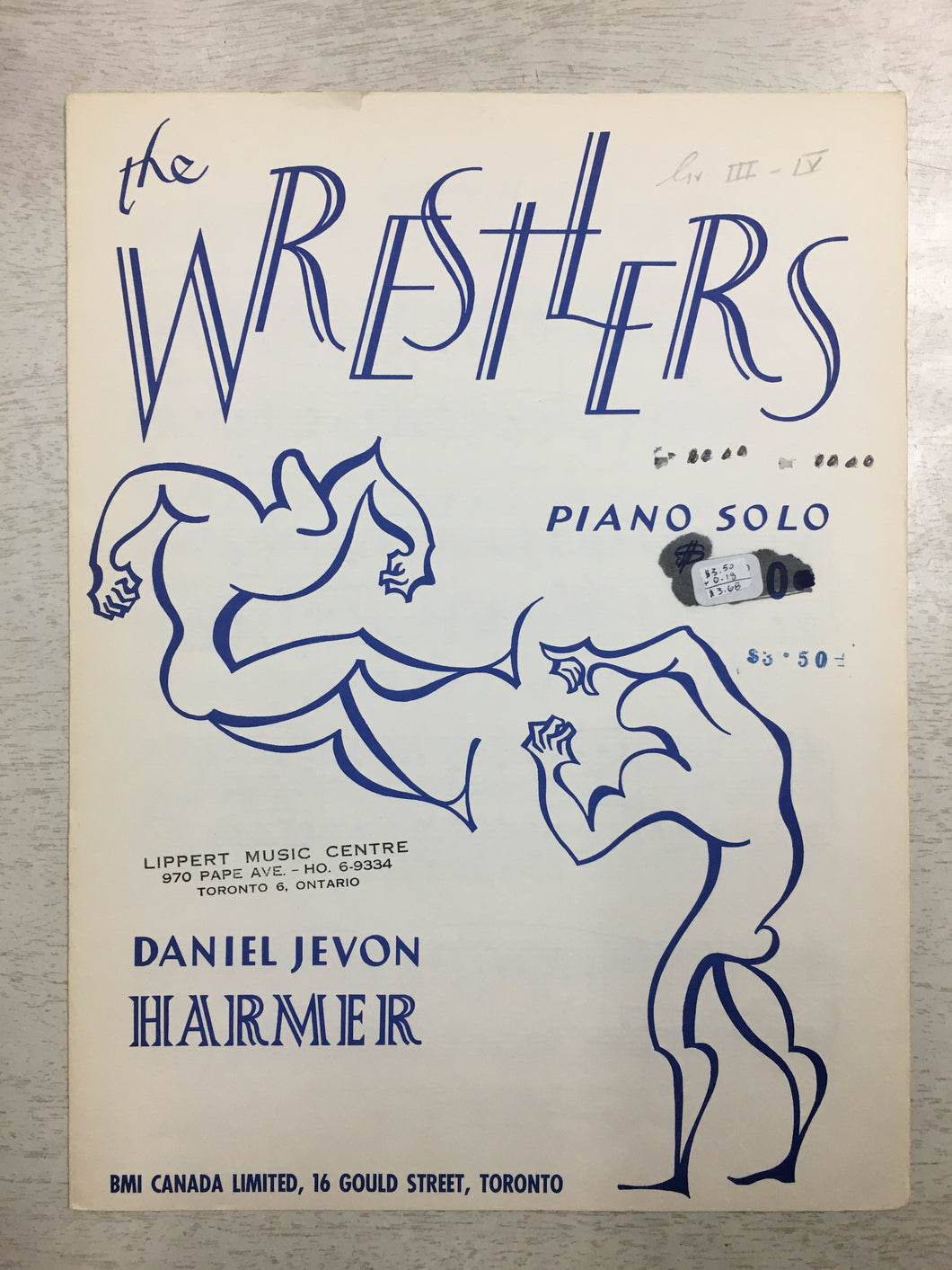 The Wrestlers, Daniel Jevon Harmer