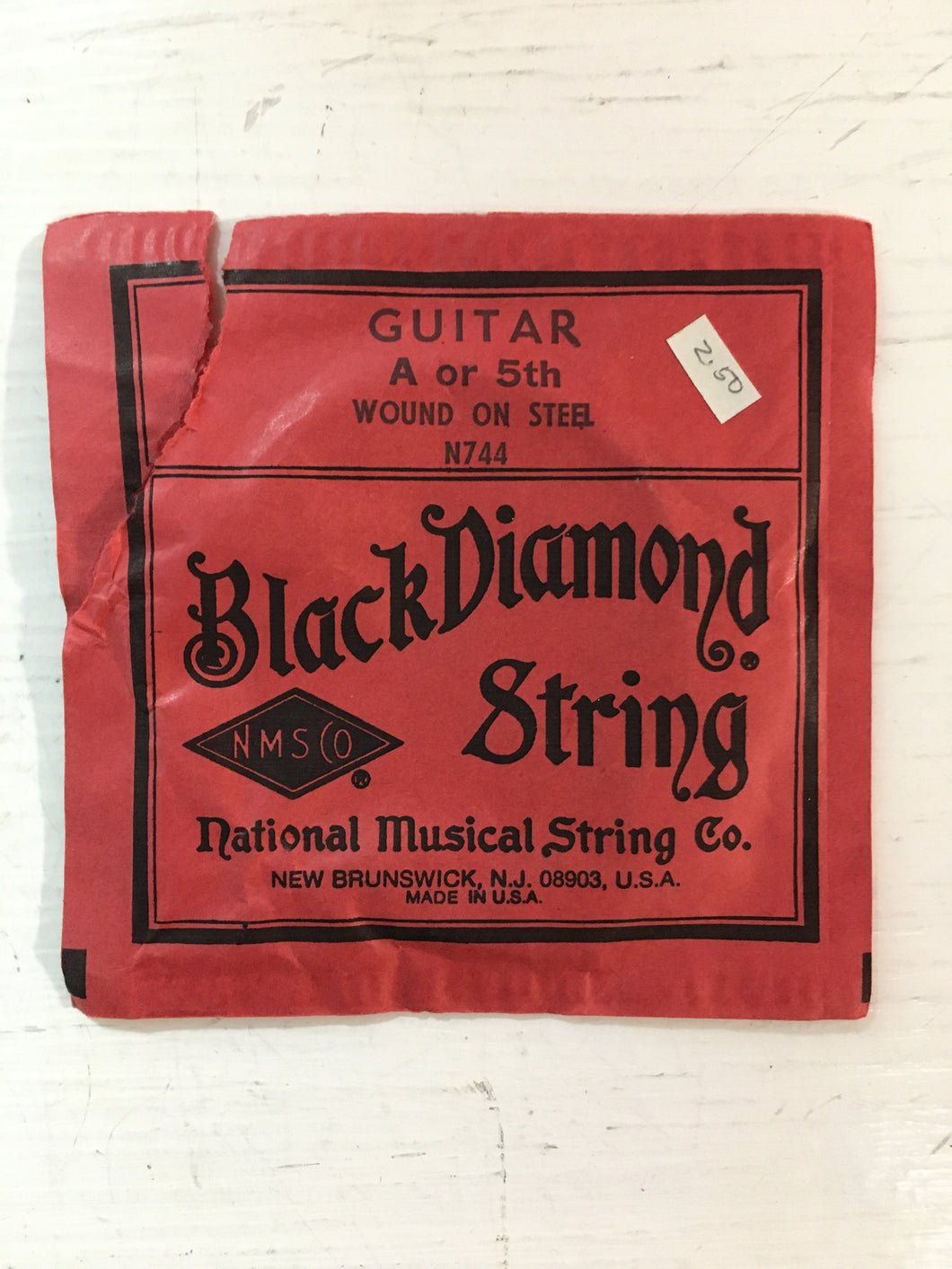 Acoustic Single Strings - Black Diamond Wound on Steel A String